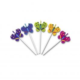 Set de velas forma mariposa