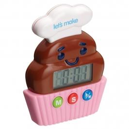 Temporizador de Cocina forma de Cupcake
