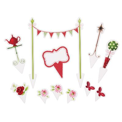Tea Party Cake Toppers
