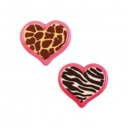 Molde para chocolate Animal Heart