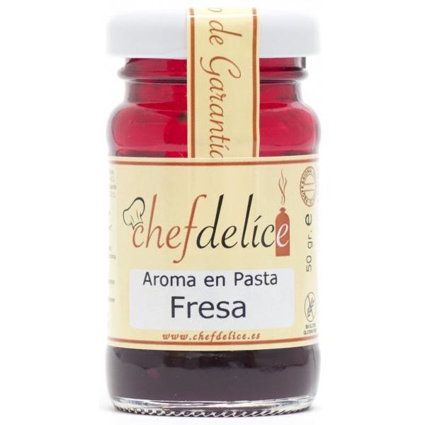 Aroma en Pasta sabor Fresas Chef Delice
