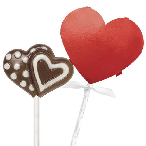 Kit decorativo para piruletas San Valentín