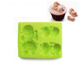 Molde de Silicona Bebe 3D Ibili