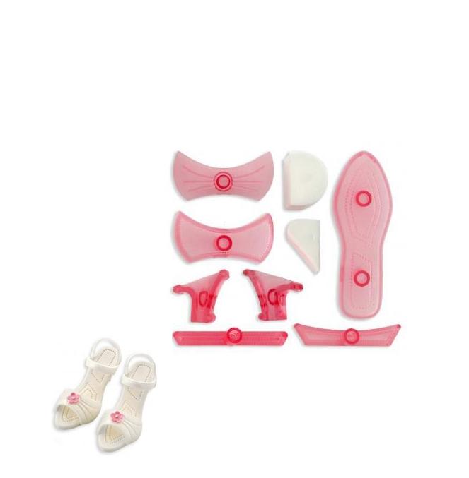 Set 9 pcs sandalia de mujer
