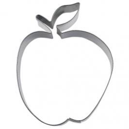 Cortador forma manzana acero inox.  6 cm