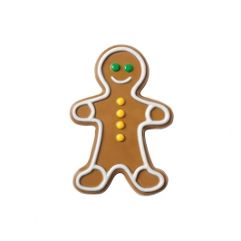 Molde para chocolate Gingerbread boy