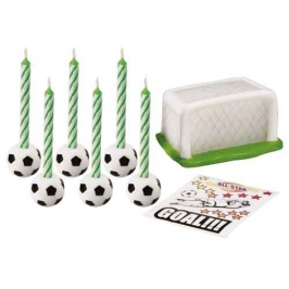 Set de Futbol para decorar Tartas Wilton