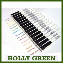 Rotulador Comestible Holly Green Sugarflair