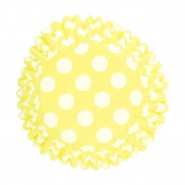 Cápsulas para cupcakes Spot Yellow