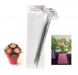 Set de 12 soportes para hacer Cupcake Bouquet