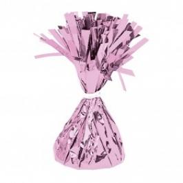 Contrapeso para globos de helio rosa