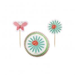 Wilton cupcake combo Modern Garden