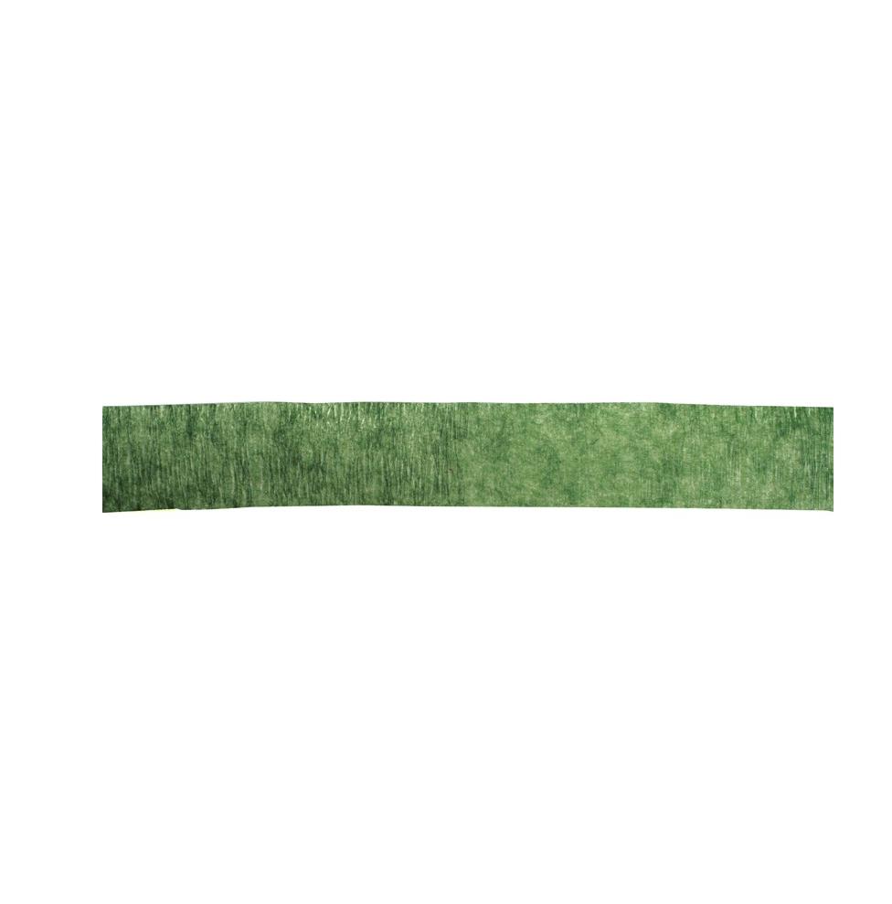Cinta floral en color verde musgo