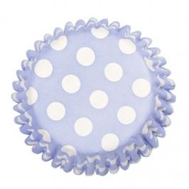 Cápsulas para Cupcakes Spot Baby Blue