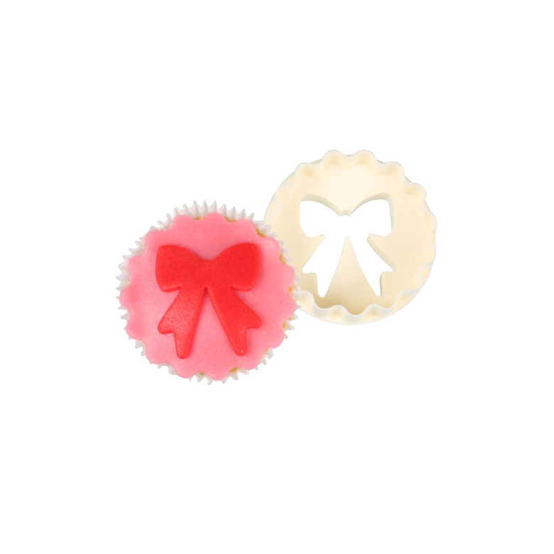 Doble cortador Lazo/círculo especial cupcakes