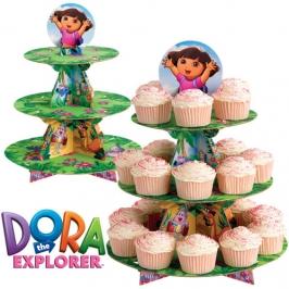 Stand para Cupcakes Dora la Exploradora