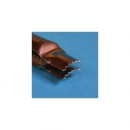Pinza crimper curva cerrada tipo sierra 3/4