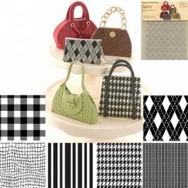 Set 6 Láminas texturizadoras Fabric