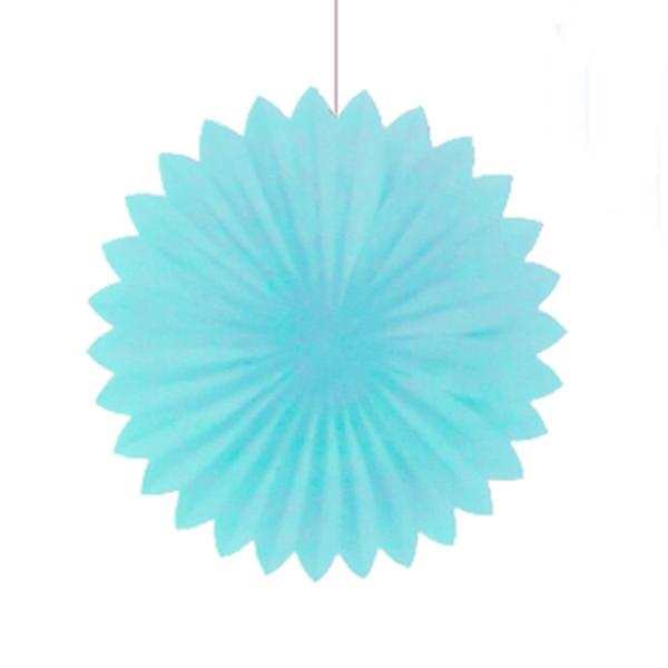 Abanico Celeste de 25 cm