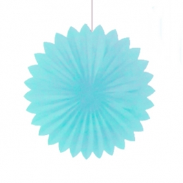 Abanico Celeste de 30 cm