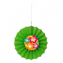 Abanico Decorativo Hawai 30 cm