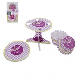 Set decoración de cupcakes Sweets