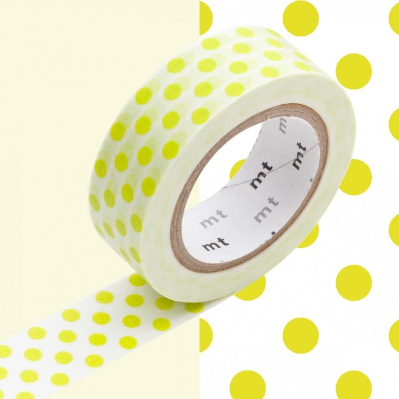 Masking Tape 1P Deco Dot Moegi