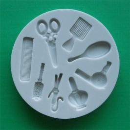 Molde silicona Peluquería