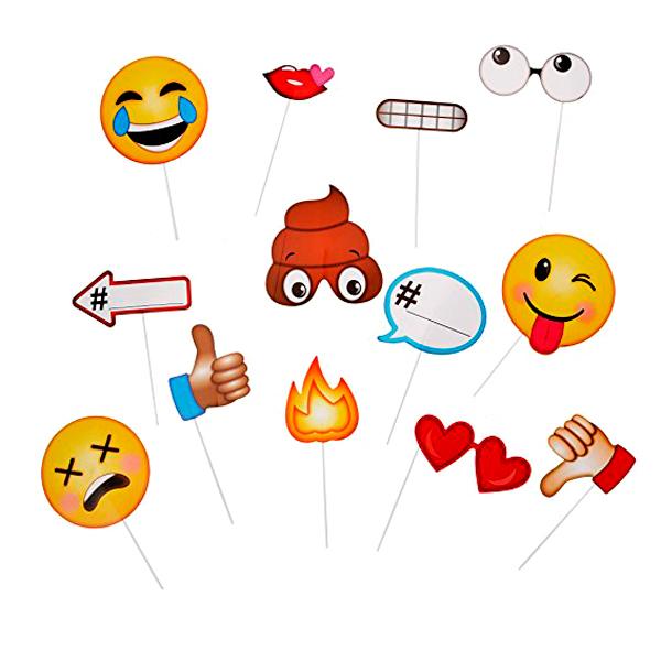 Accesorios para Photocall Emoji