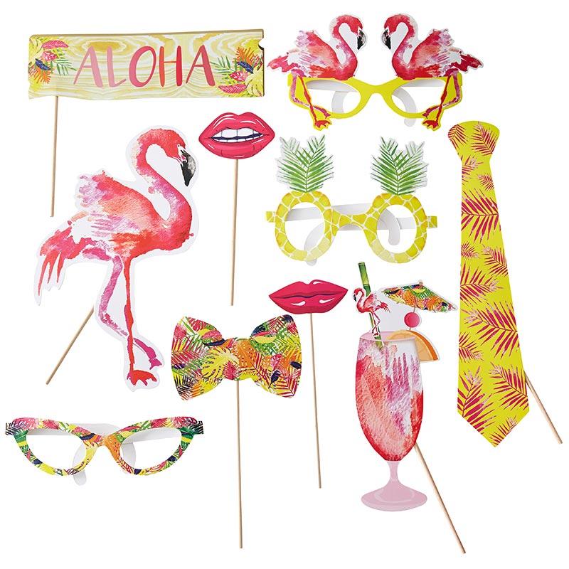 Accesorios Photocall Flamingo Rosa