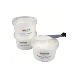 Fondant líquido Blanco Funcakes 375 gr