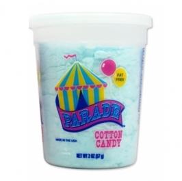 Algodón de azúcar Azul