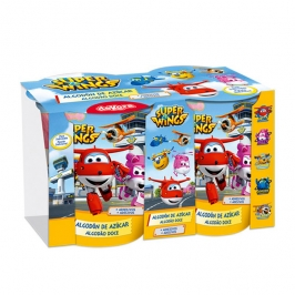 Algodones de Azúcar Super Wings