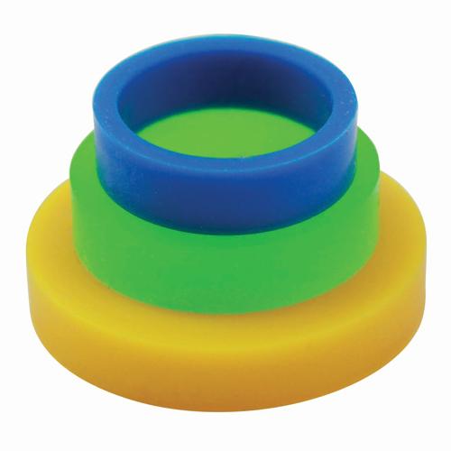 Set de 3 anillos de altura para rodillos pequeños PME