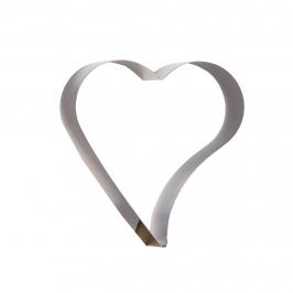 Aro para Tarta Corazón Inclinado 16 x 4,5 cm