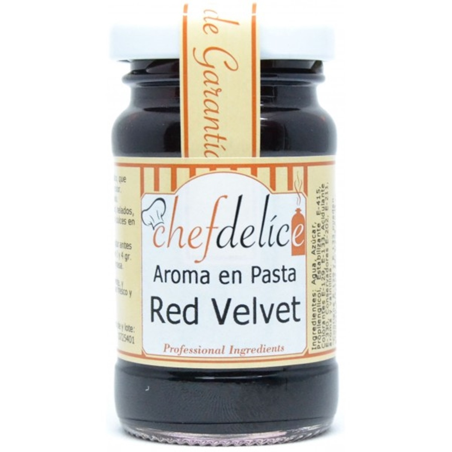 Aroma en Pasta Red Velvet 50 gr