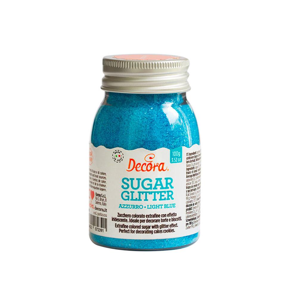 Azúcar Brillante Azul Claro 100 gr