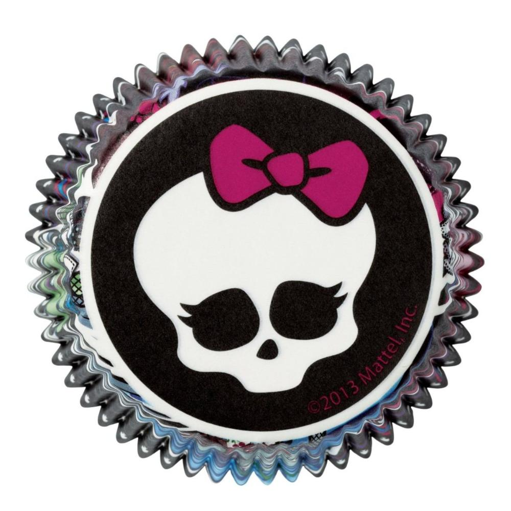 Cápsulas para cupcakes Monster High