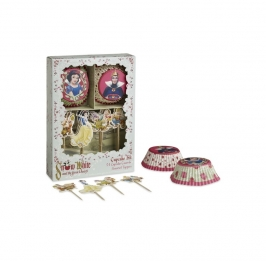 Blancanieves Cupcake Kit Decoration