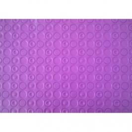 Tapete texturizador círculos