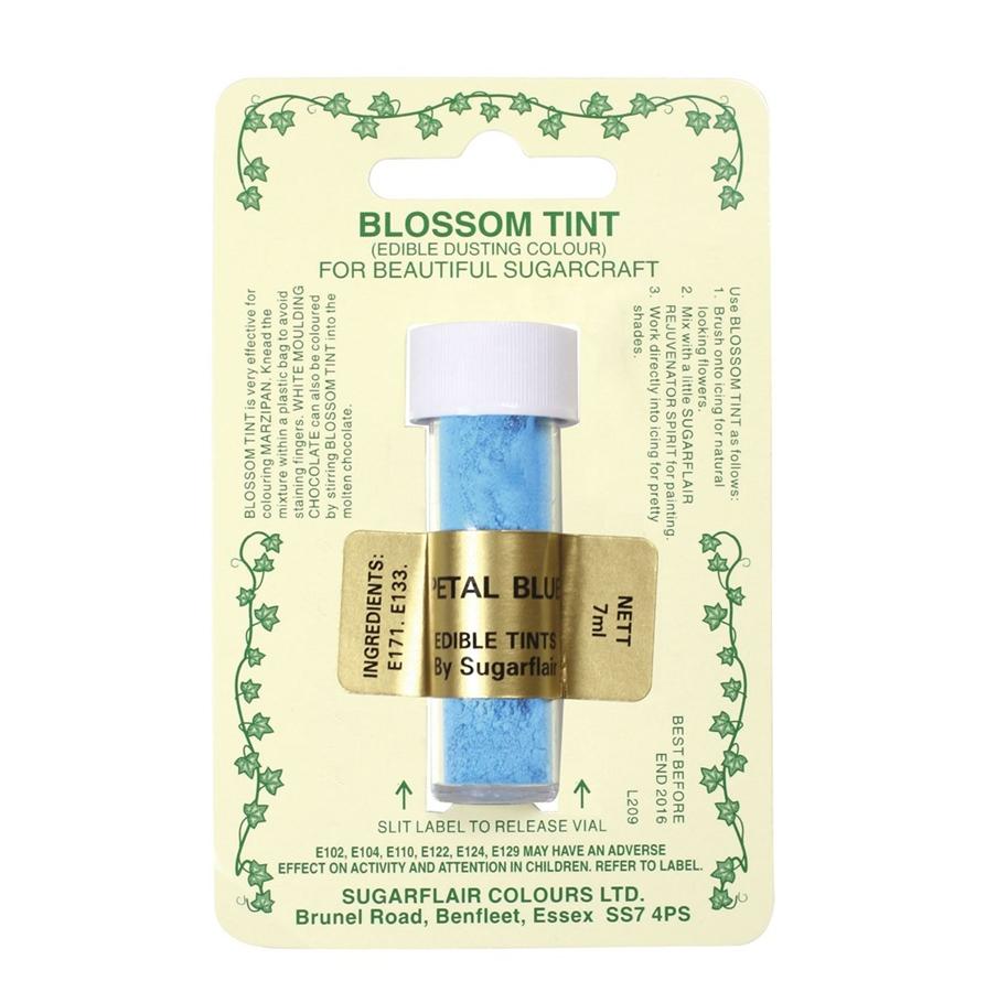 Colorante en polvo Sugarflair Azul pétalo