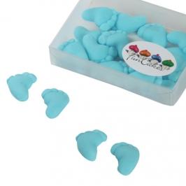 Piececitos comestibles azul claro Funcakes (16 uds)