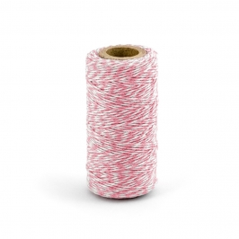 Baker Twine color rosa