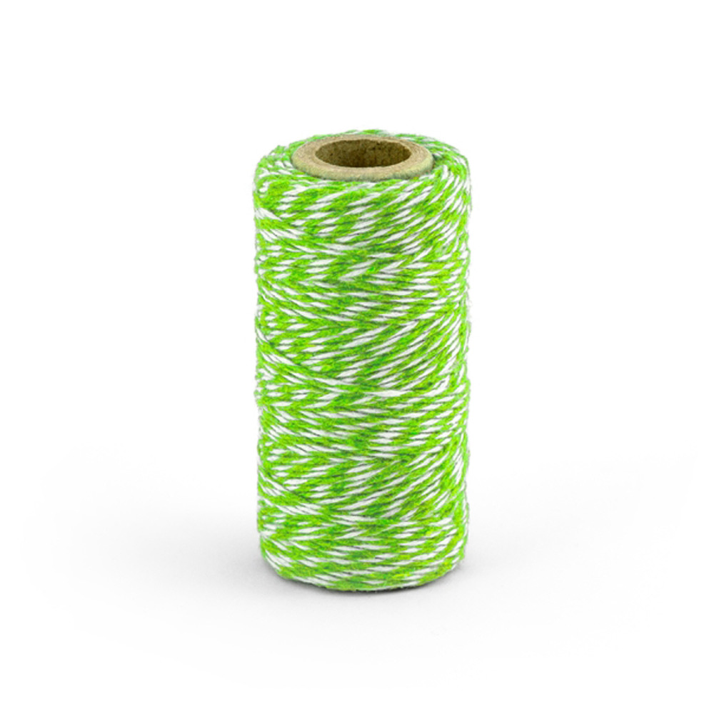 Baker Twine color verde