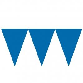 Banderín de Papel Azul Royal 4,5 Metros