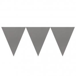 Banderín de Papel Plata 4,5 metros