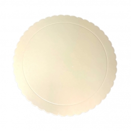 Base Beige Redonda para Tartas 30 cm