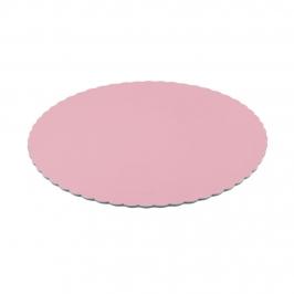 Base ondulada para Tarta Rosa Bebé 30 cm