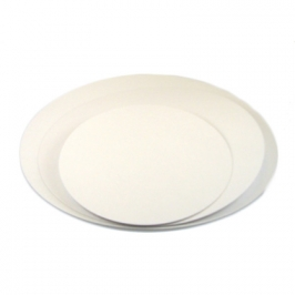 Base para tarta color blanco 20 cm (5 uds)
