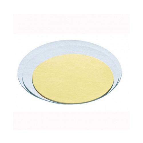 Base para tartas plata/oro 40 cm